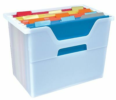 Iris File Box, Clear - 103421