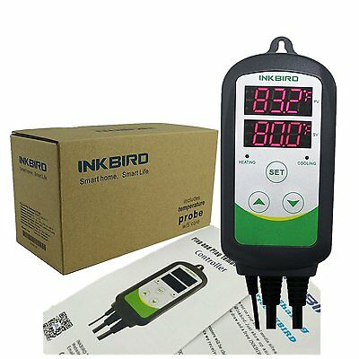 Inkbird 110V, 1000W Pre-Wired Dual Stage Digital Temperature Simple and