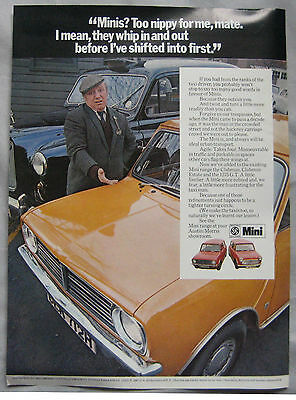 1970 Mini Original advert No.2