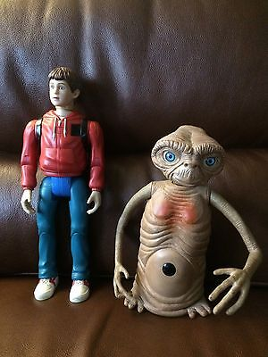 VINTAGE E T And Elliot Talking Interactive Figures Thinkways Toys ET