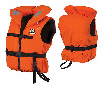 Jobe Comfort Boating Vest Youth Kids Swimming Vest Life Jacket orange