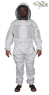 """Beekeeping Suit  """"oz Armour"""" Ventilated  Fencing/folding  Veil"""