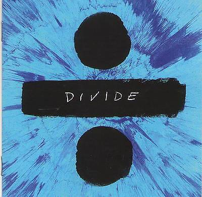 ED SHEERAN - DIVIDE DELUXE EDITION (+4 Bonus) NEW ALBUM 2017 CD Jewel Case+GIFT