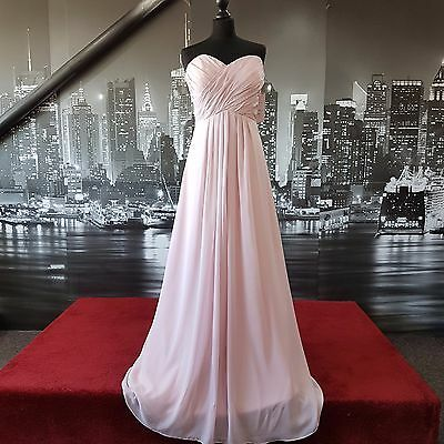 Lace up Dress (Petal Pink-Size 12) Prom, Bridesmaid, Ball, Cruise etc RRP £150