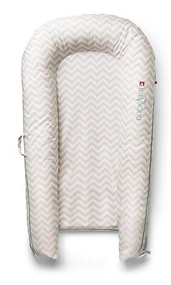 DOCKATOT GRAND DOCK - Silver Lining Chevron FOR (8-36 Months) Stage 2