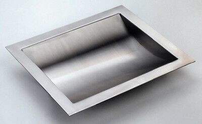"""Stainless Steel Drop-In Deal Tray, Brushed Finish, 17"""" (w) x 10"""" (d)"""