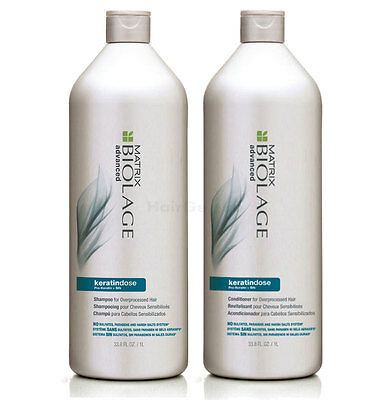 Matrix Biolage Advanced Keratindose - Shampoo 1L + Conditioner 1L