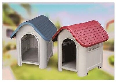 Heavy Duty Plastic Dog Kennel Pet Shelter PLASTIC DURABLE OUTDOOR House
