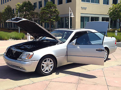 1999 Mercedes-Benz CL-Class Leather 1999 Mercedes-Benz CL600 99k miles California Car.  1 of 14 Excellent Condition