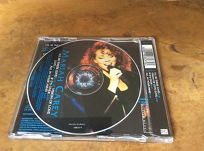 MARIAH CAREY -I'll Be There - 1992 UK limited edition 4-track PICTURE CD single