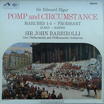 ASD 2292 SIR EDWARD ELGAR: Pomp And Circumstance  Sir John Barbirolli  Stereo
