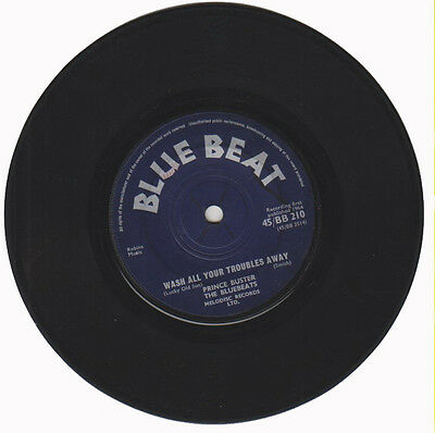"Prince Buster, The Bluebeats / Rico And His Blue Boys ‎– Wash Al  (Vinly 7"")"
