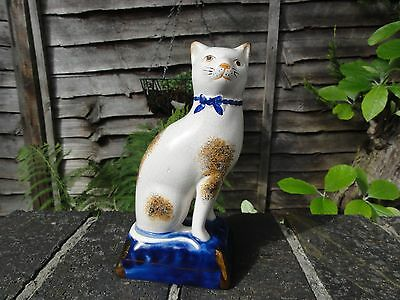 Vintage / Antique Staffordshire Cat