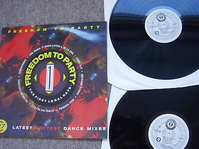 Freedom To Party: The First Legal Rave - Trax Music 1990 Double Nr.mint