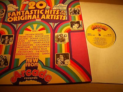 20 Fantastic Hits By The Original Artists - Arcade 1972 Lp Ex/vg+