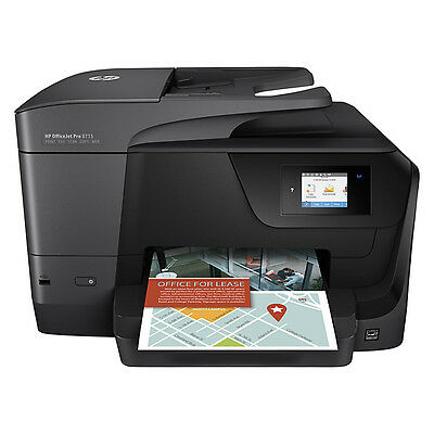 HP OfficeJet Pro 8715 All-in-One Wireless Inkjet Printer with Fax-