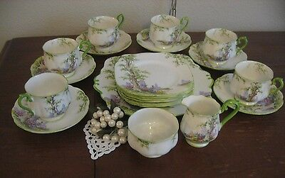 Vintage Royal Albert Greenwood Tree China 21 Pcs