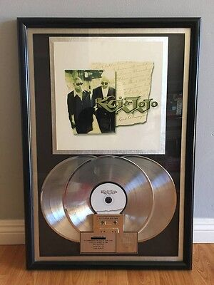 JODECI (KCi & JoJo) PLAQUE 3 Million Sales RIAA Award Lp Cd Album
