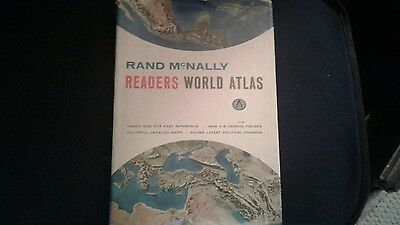 Rand McNally Readers World Atlas 1962