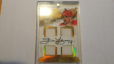 2010/11 The Cup Yzerman Quad Jersey Auto Card