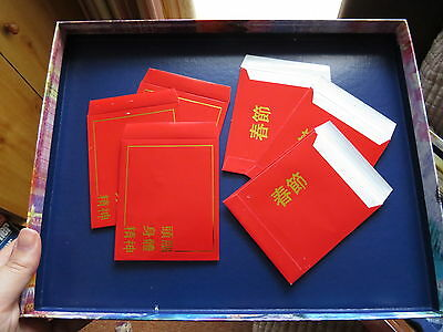 Mind Body Spirit Magazine Red Money Chinese Envelopes from DeAgositini