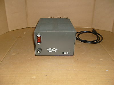 Tripp Lite Pr-15B Pr-15 Precision Regulated Dc Power Supply 13.8V Dc / 15 Amp