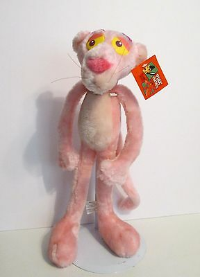 """PINK PANTHER 17"""" Cartoon Plush Kelly Toy 1999 - NEW WITH TAGS!!!"""