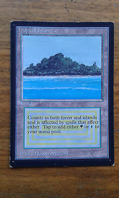 Mtg International Edition Tropical Island MP/HP