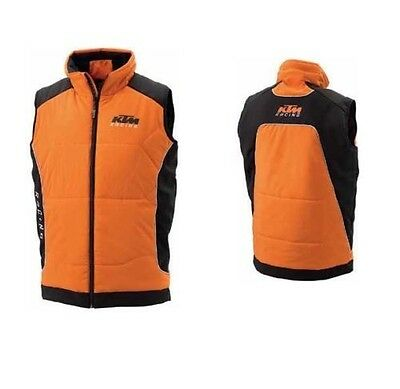 Brand New Ktm Soft Shell Zip Up Vest Jacket Men's 3Pw1455605