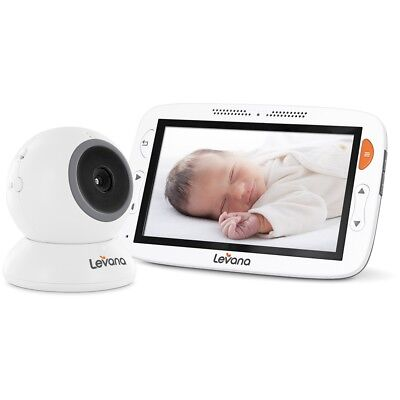 "Levana Alexa 5"" Video Baby Monitor with Temperature Monitoring & Feeding Timer"