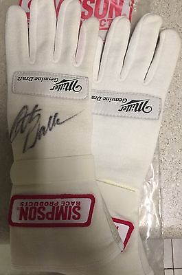 Rusty Wallace Signed Simpson Miller Beer Race Issue Gloves COA Hologram