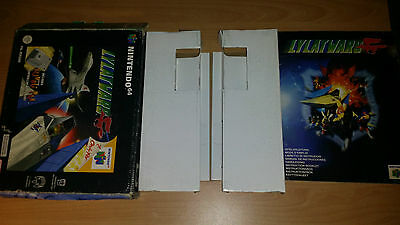 Lylatwars Lylat Wars Star Fox Nintendo 64 Big Box Anleitung Manual only no game