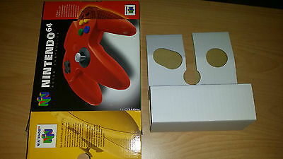Nintendo 64 N64 original Controller red rot Box OVP Verpackung Inlay only
