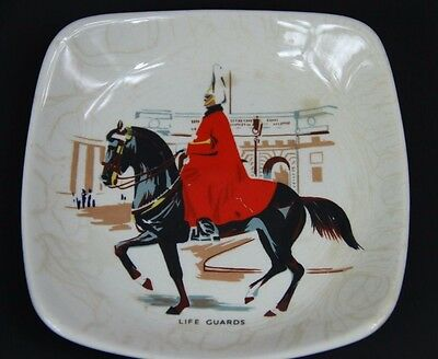 LIFE GUARDS Mini Plate Wade England Small 4 1/4""