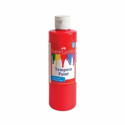 Faber-Castell Red Tempera Paint (8 oz. bottle)