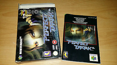 Perfect Dark Rareware Nintendo 64 N64 PAL nur Anleitung Box Manual only
