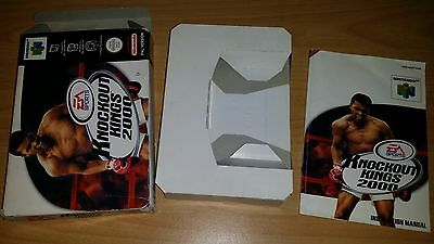 Knockout Kings 2000 Nintendo 64 N64 PAL nur Anleitung Box Manual only