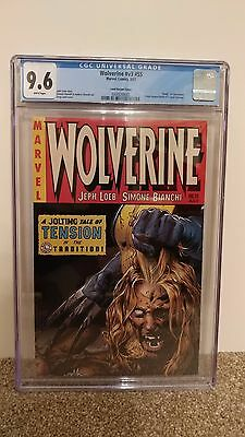 Wolverine 55 CGC 9.6 Variant Greg Land White Pages