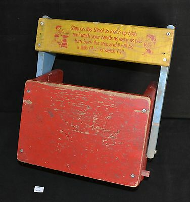 ThriftCHI ~ Vintage Childs Seat & Step Stool