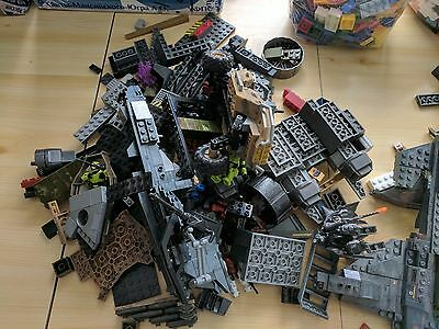 6+ kg Mega Bloks Bulk Parts, Pieces, Bricks, Plates, Halo, Call of Duty, UNSC