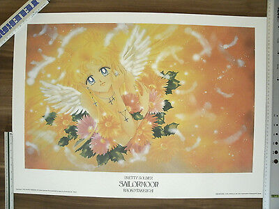 Sailor Moon Naoko Takeuchi Lithographie Lithografie Poster 1000Edt. Artbook pic
