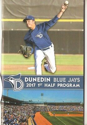 2017 Dunedin Blue Jays MiLB Toronto Official Baseball Program + Pocket Schedule