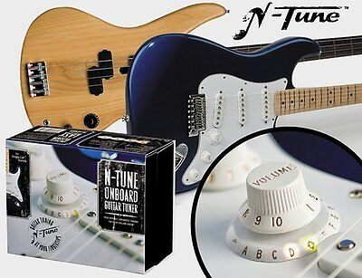 N-Tune On board Chromatic Electric Guitar Tuner for Fender style Guitars