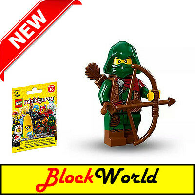 *SEALED* LEGO MINIFIGURES - 71013 Series 16 - #11 Rogue Archer Minifigure NEW