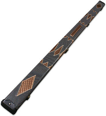 One Piece Patchwork Snooker Cue Case With 2 Slots G62568