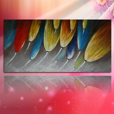Plants On Canvas Hand Draw Modern Wall Art Decor With Frame Oil Painting