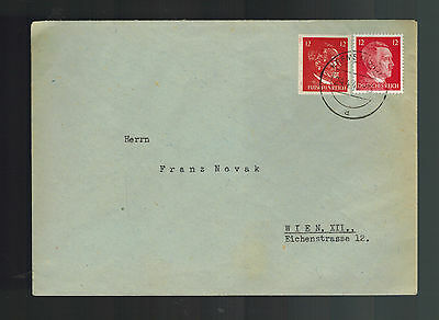 1945 Krems to Vienna Austria Cover OSS Hitler Forgery Stamps