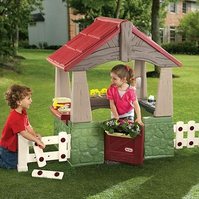 Little Tikes Home and Garden Play House 615894 made in USA