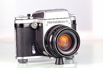 PENTACON SIX TL + BIOMETAR 2.8/80mm  120 6x6 REVISADA MADE IN GERMANY