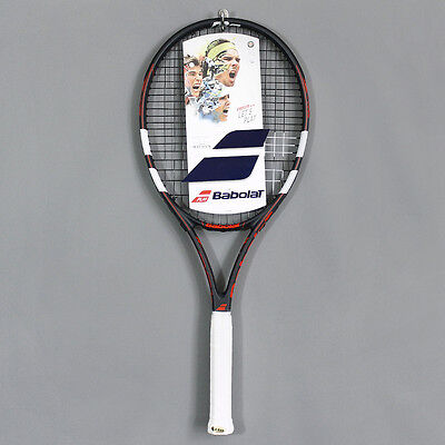 Babolat Evoke 105 Tennis Racket Grey Red